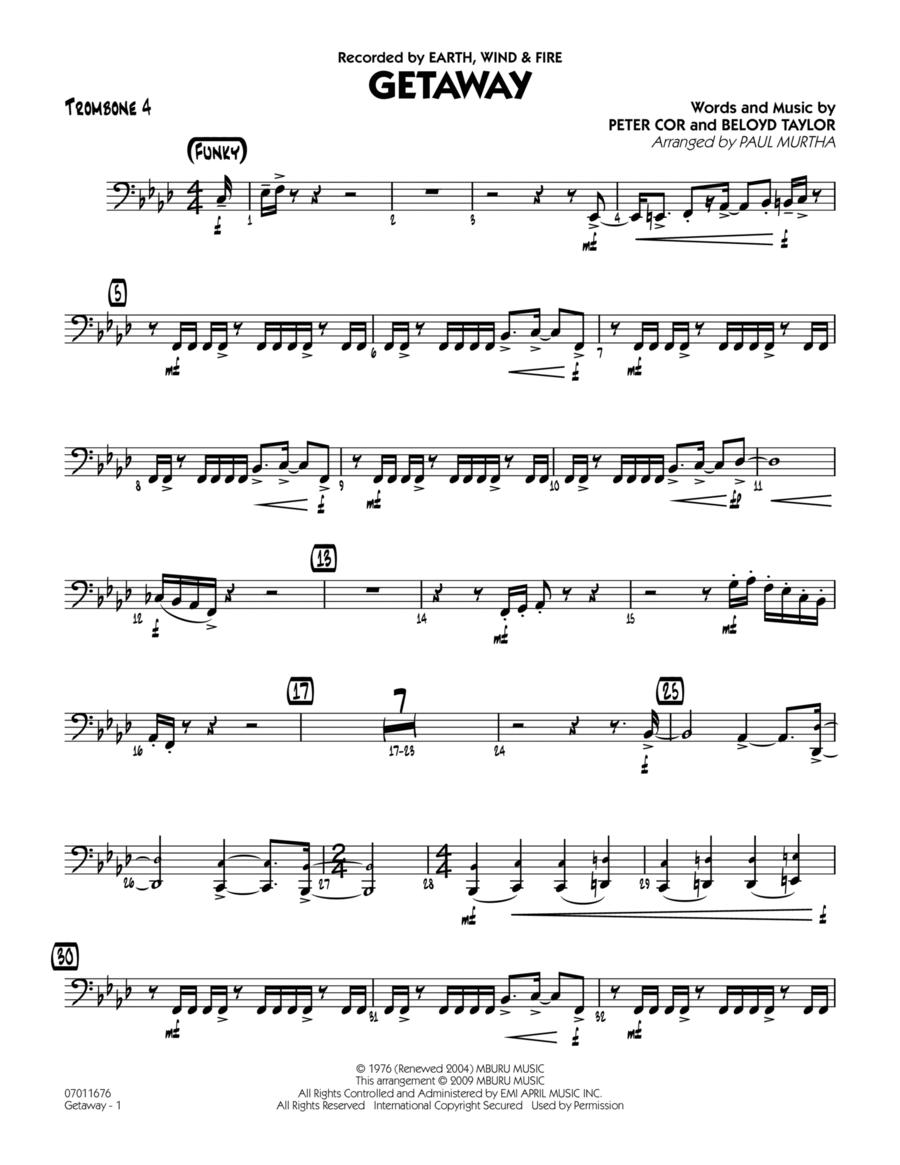 Getaway - Trombone 4