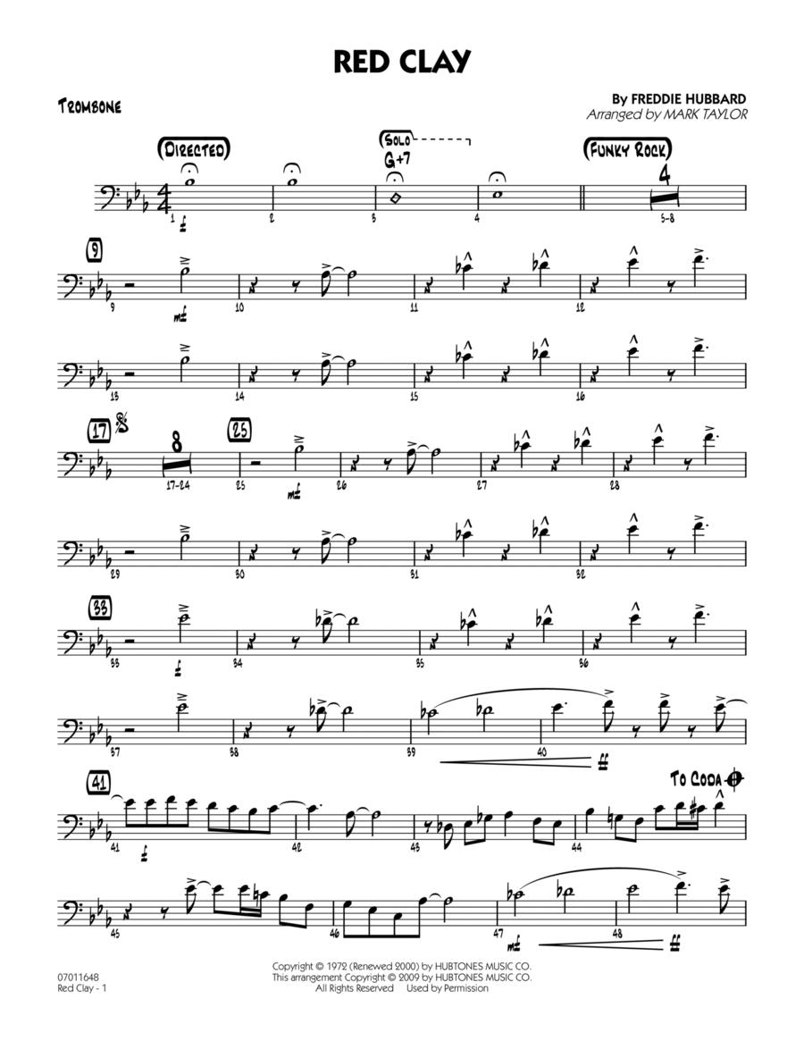 Red Clay - Trombone