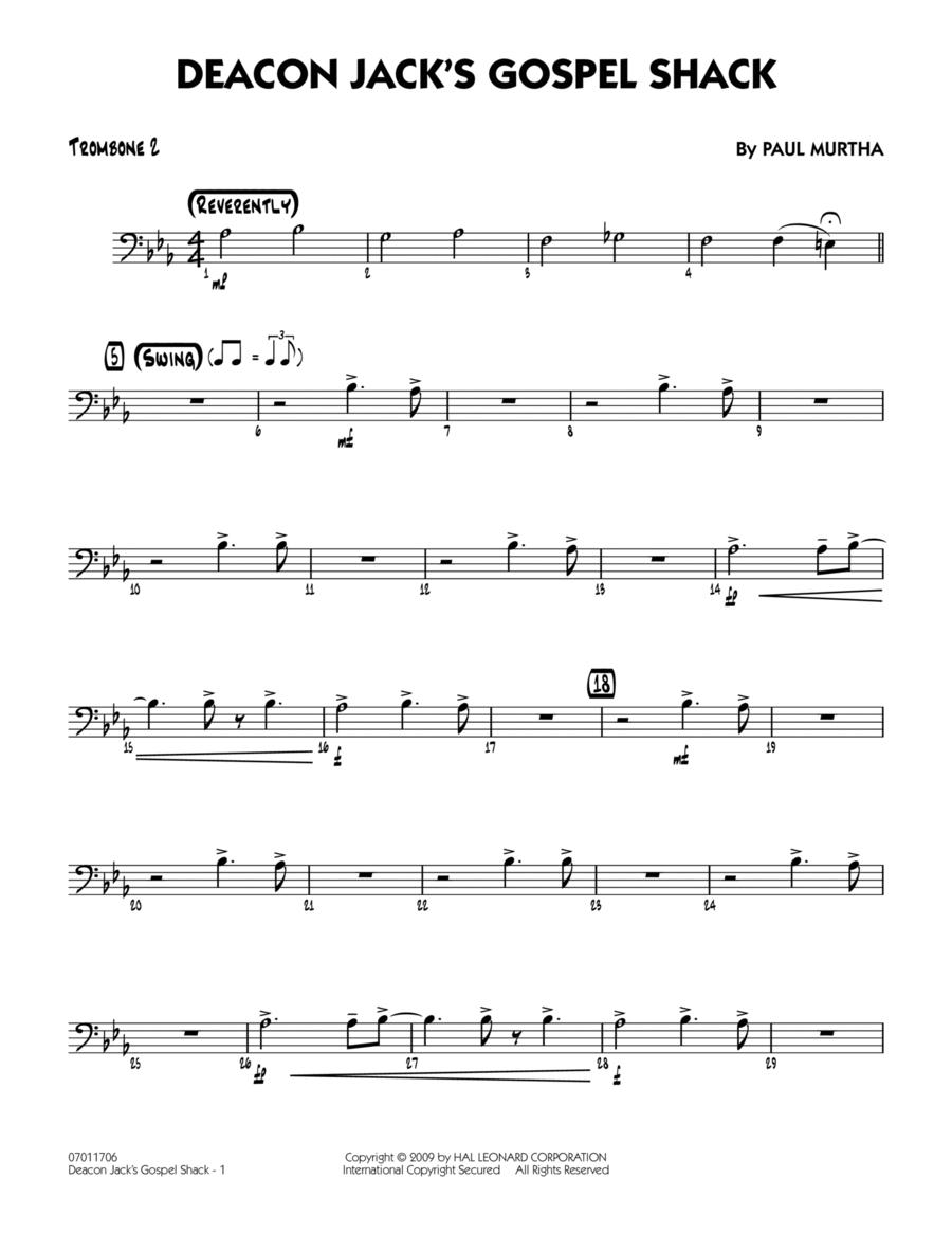 Deacon Jack's Gospel Shack - Trombone 2