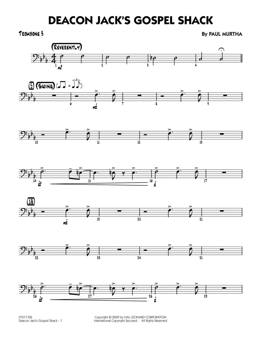 Deacon Jack's Gospel Shack - Trombone 3