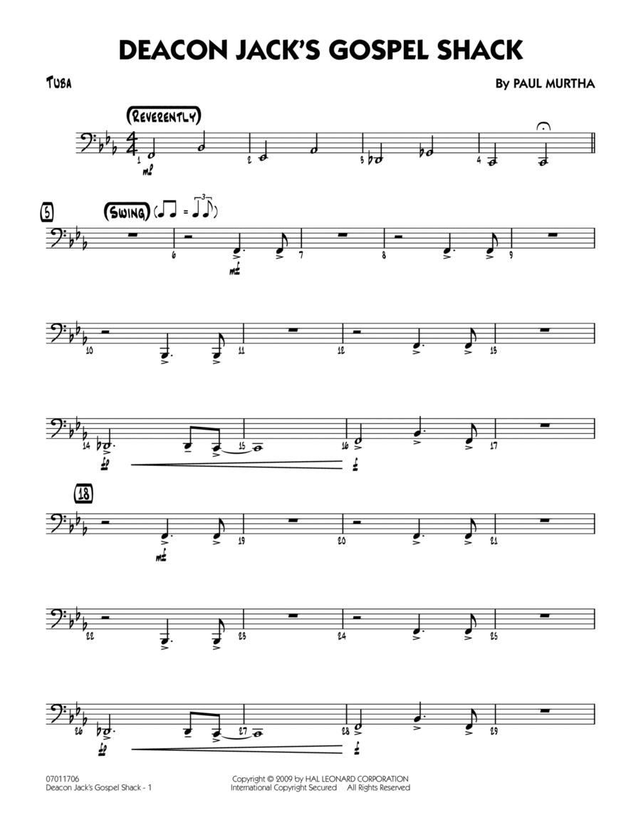 Deacon Jack's Gospel Shack - Tuba