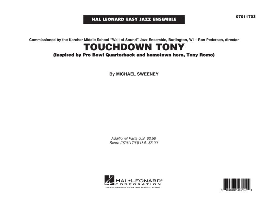 Touchdown Tony - Conductor Score (Full Score)