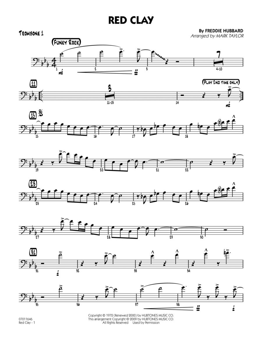 Red Clay - Trombone 1