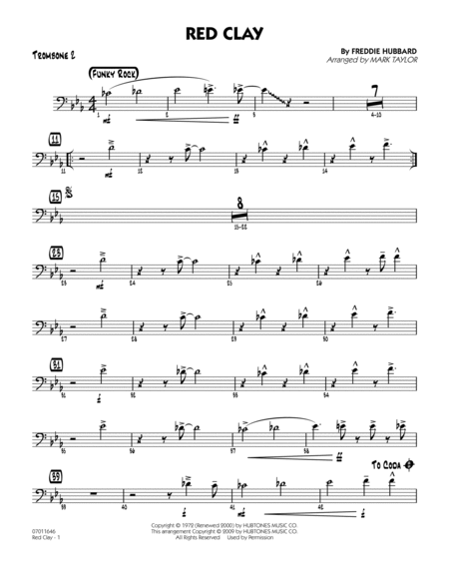 Red Clay - Trombone 2