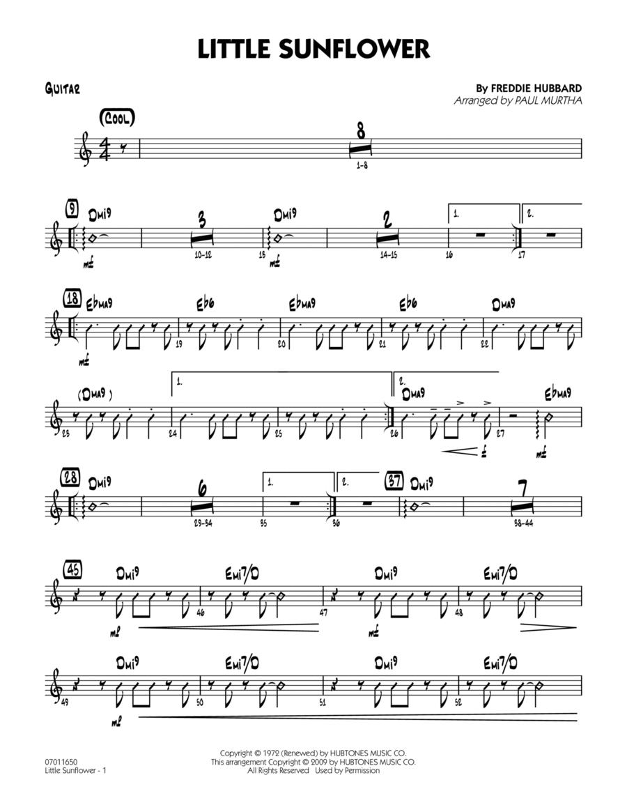 Little Sunflower - Guitar