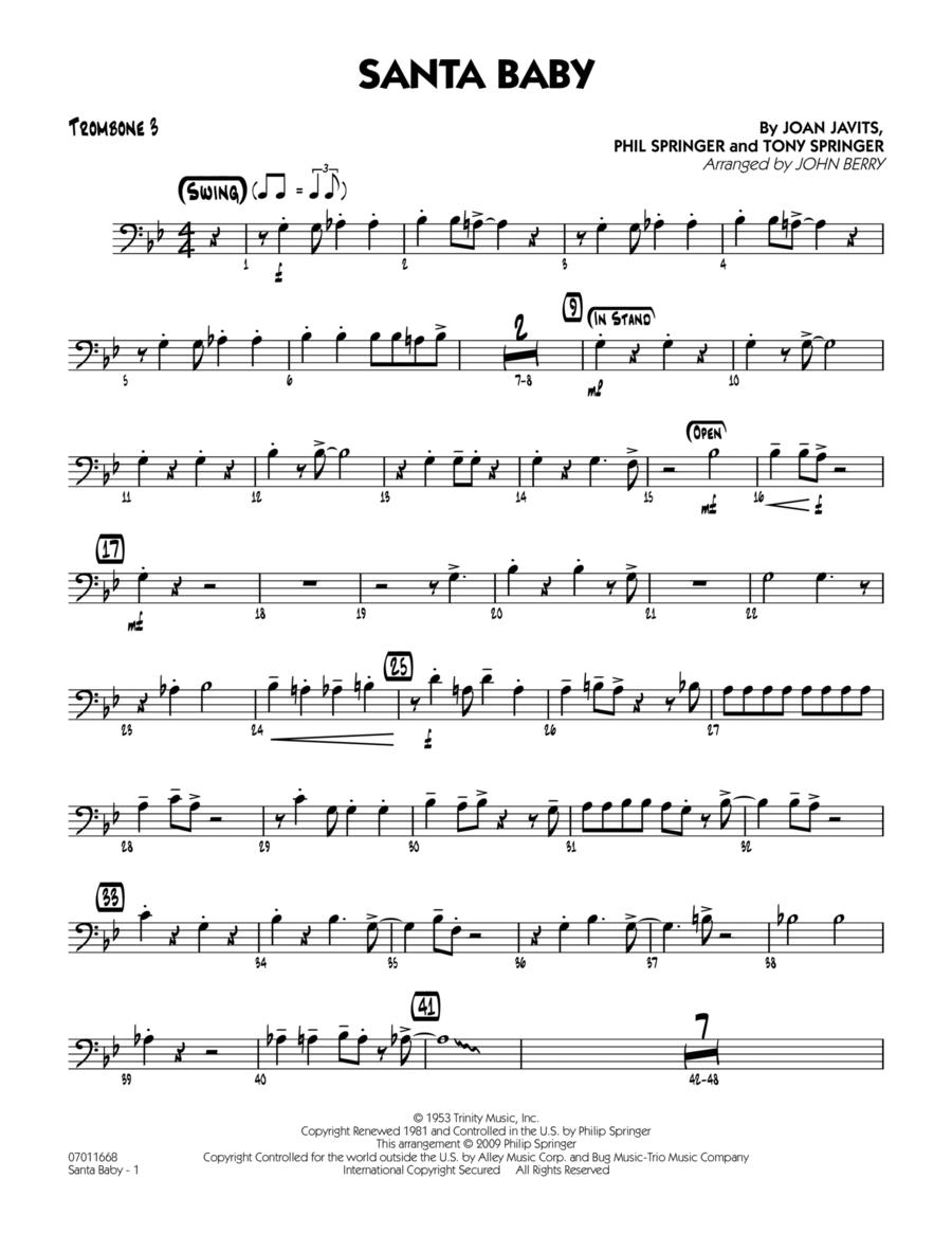 Santa Baby - Trombone 3