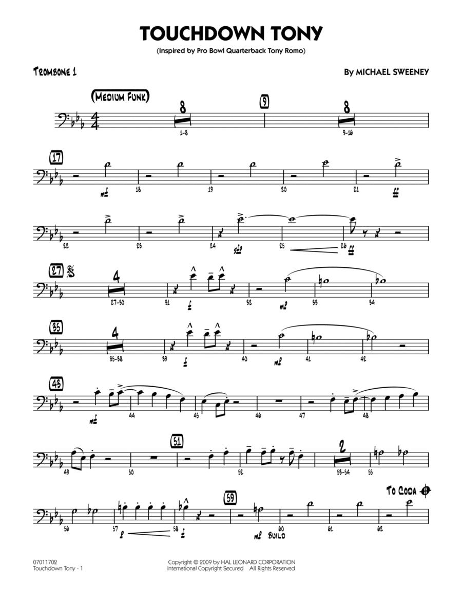 Touchdown Tony - Trombone 1
