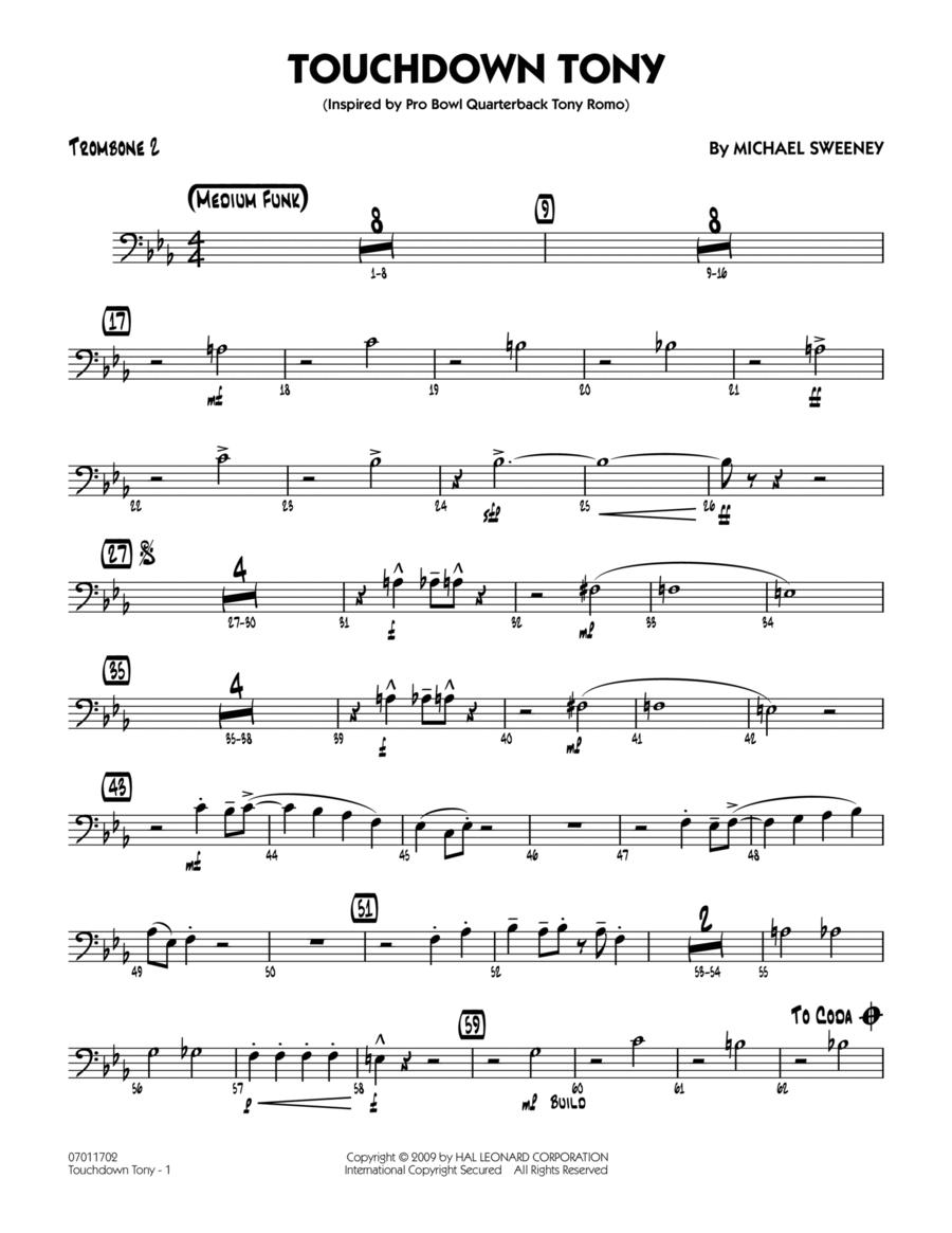 Touchdown Tony - Trombone 2