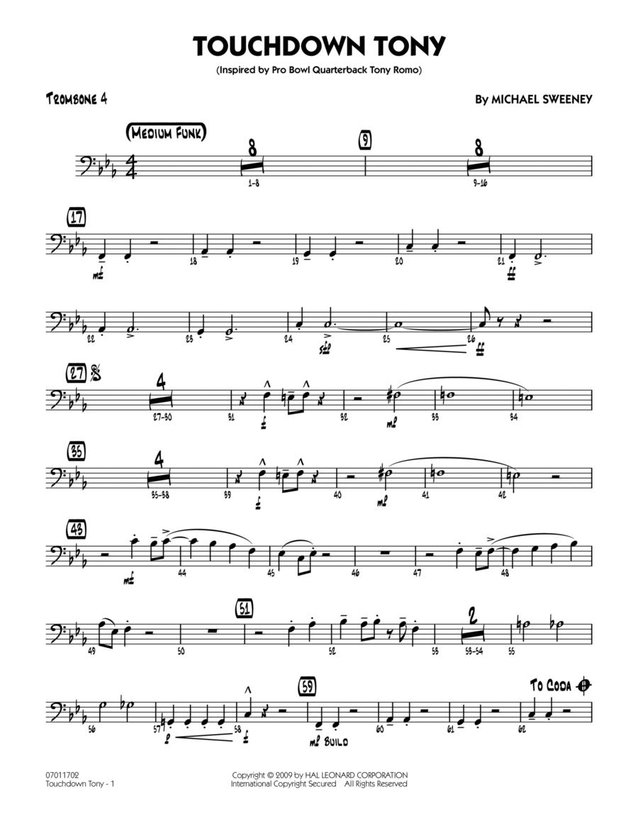 Touchdown Tony - Trombone 4