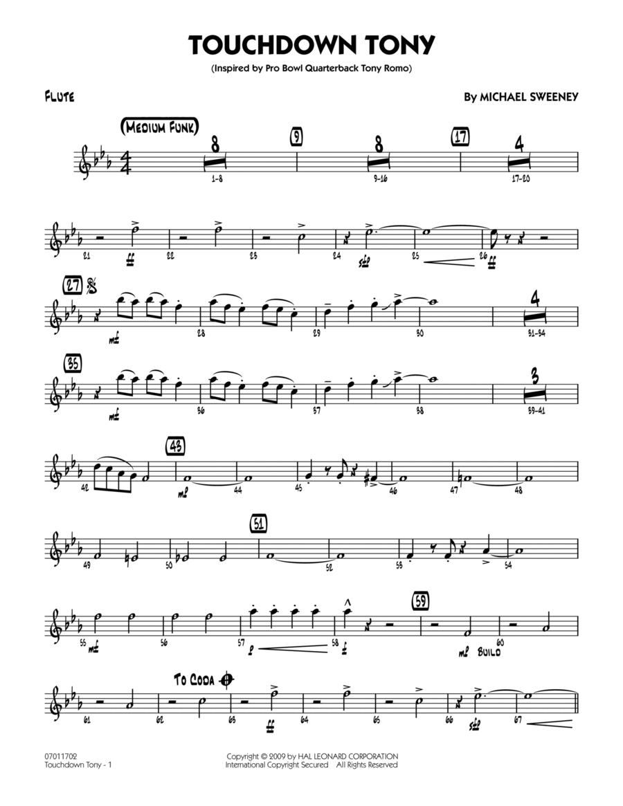 Touchdown Tony - Flute