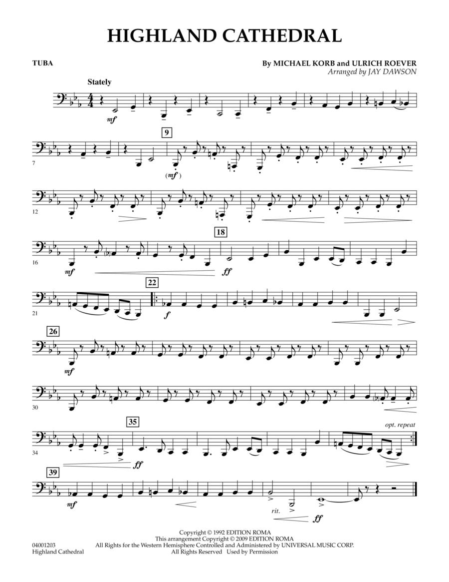 Highland Cathedral - Tuba