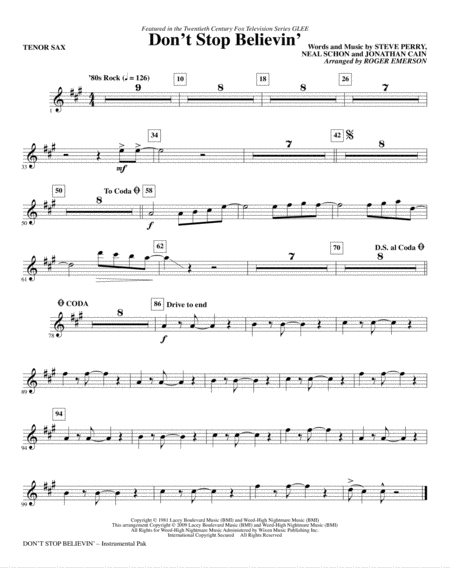 Piano : piano tabs dont stop believing journey Piano Tabs Dont at Piano Tabs Dont Stopu201a Piano ...