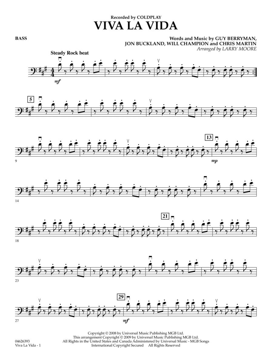 Viva La Vida - Bass