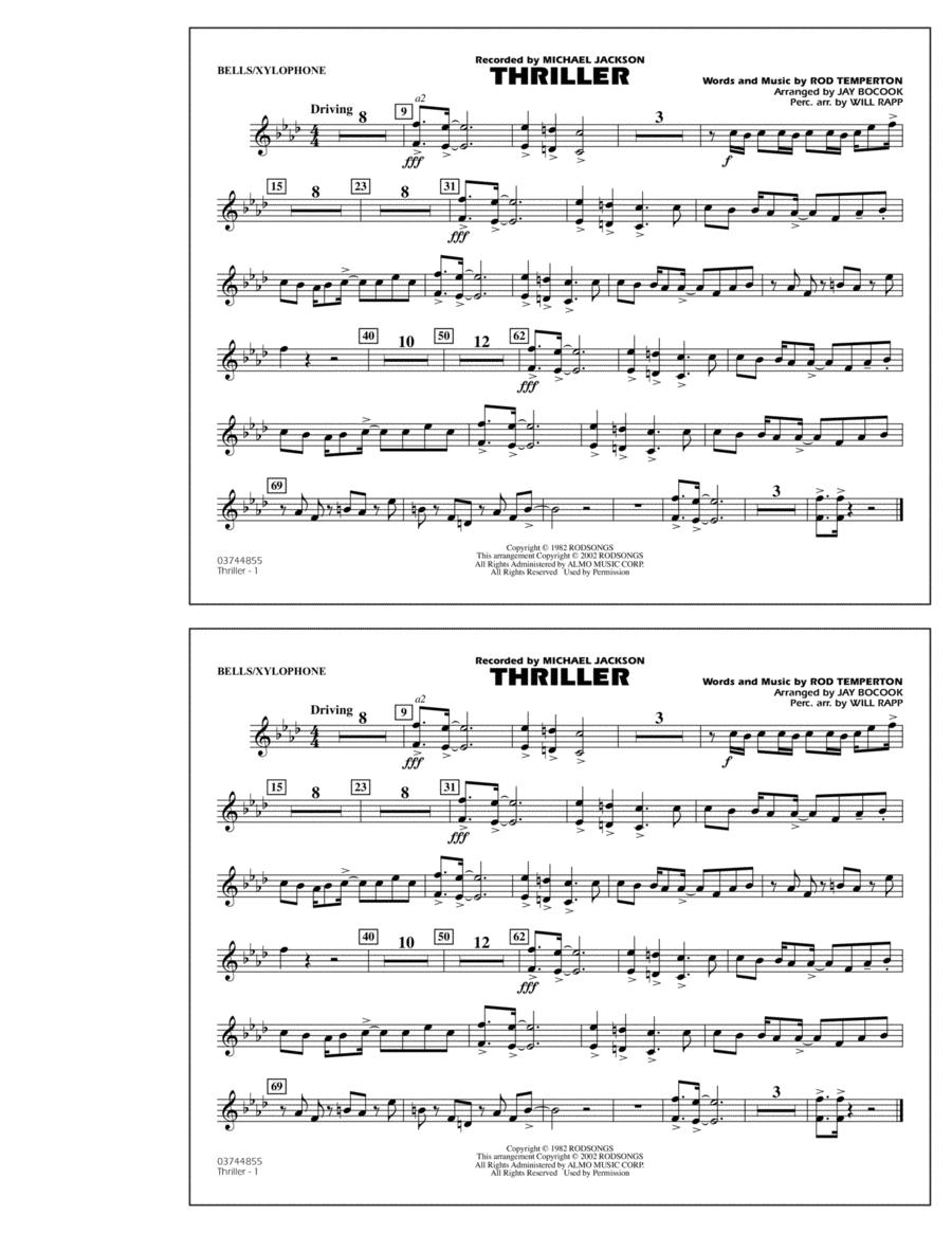 Thriller - Bells/Xylophone