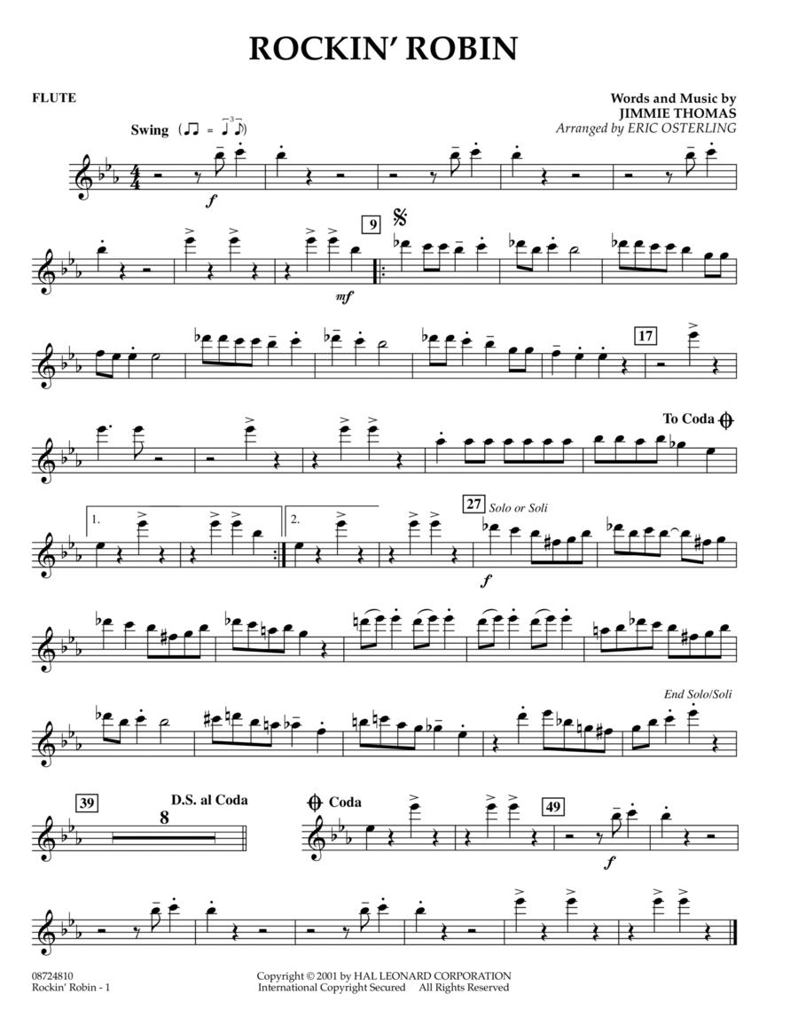 Rockin' Robin - Flute