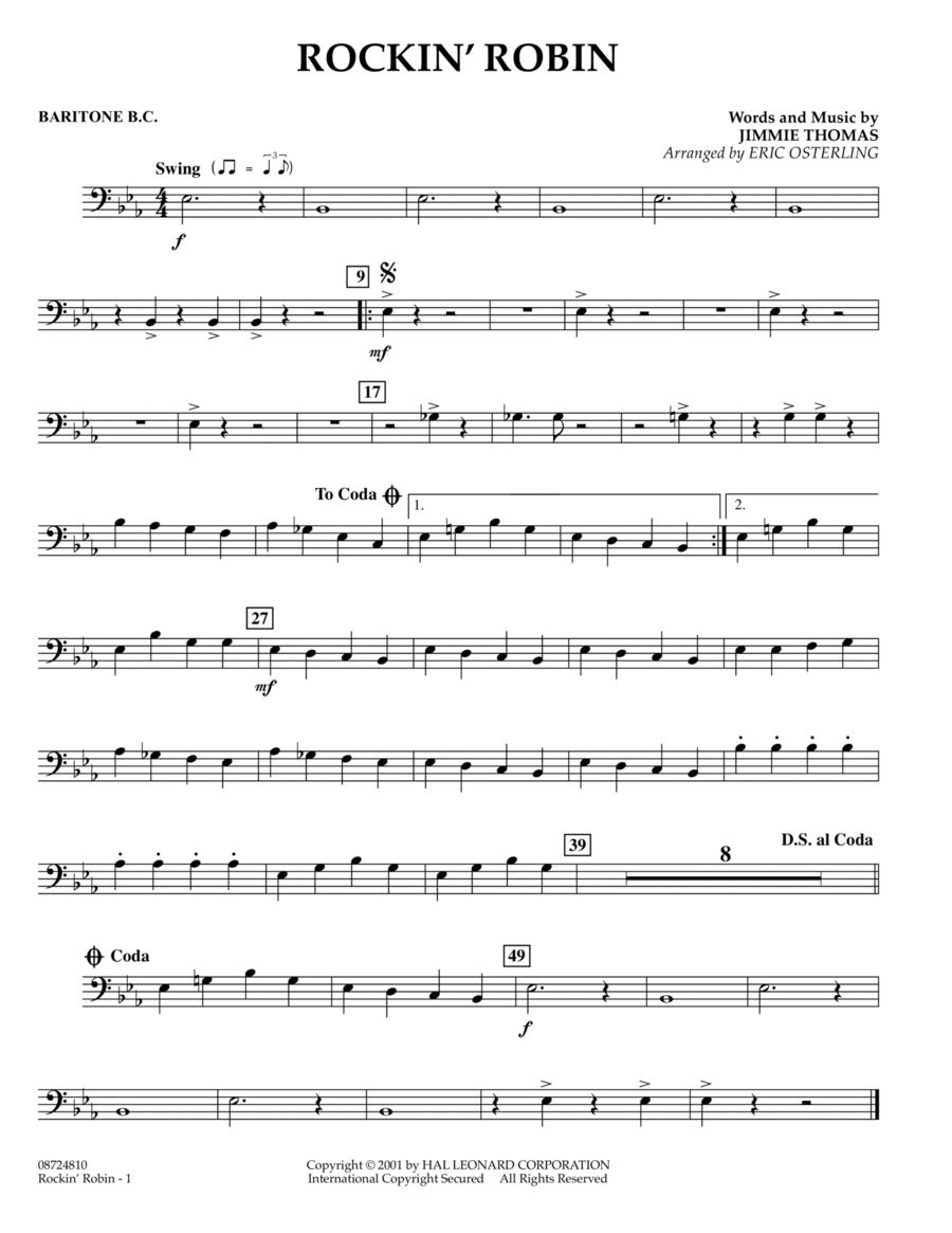 Rockin' Robin - Baritone B.C.