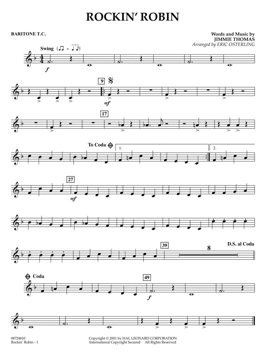 Rockin' Robin - Baritone T.C.