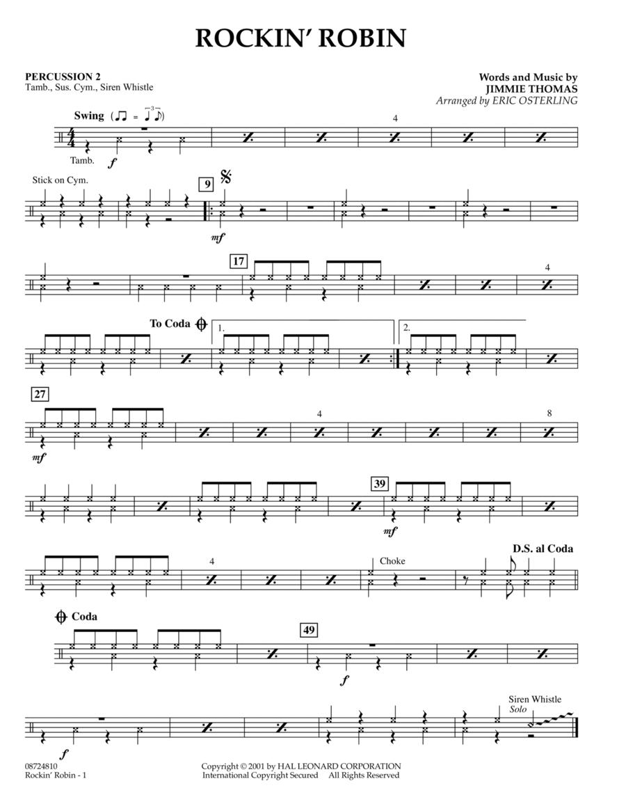 Rockin' Robin - Percussion 2