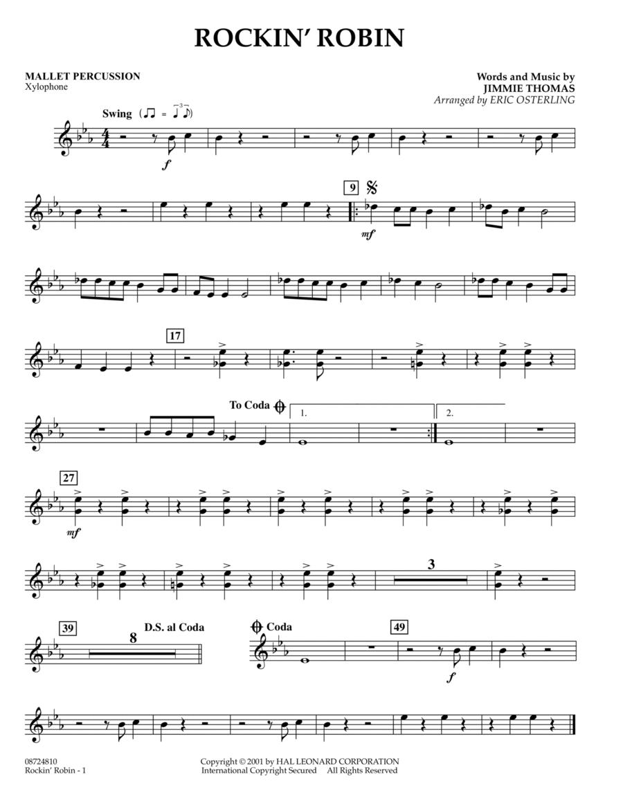 Rockin' Robin - Mallet Percussion