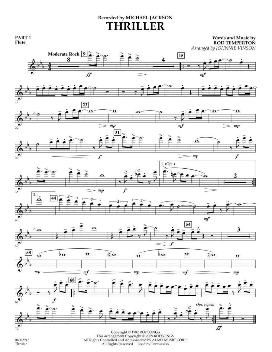 Thriller - Pt.1 - Flute