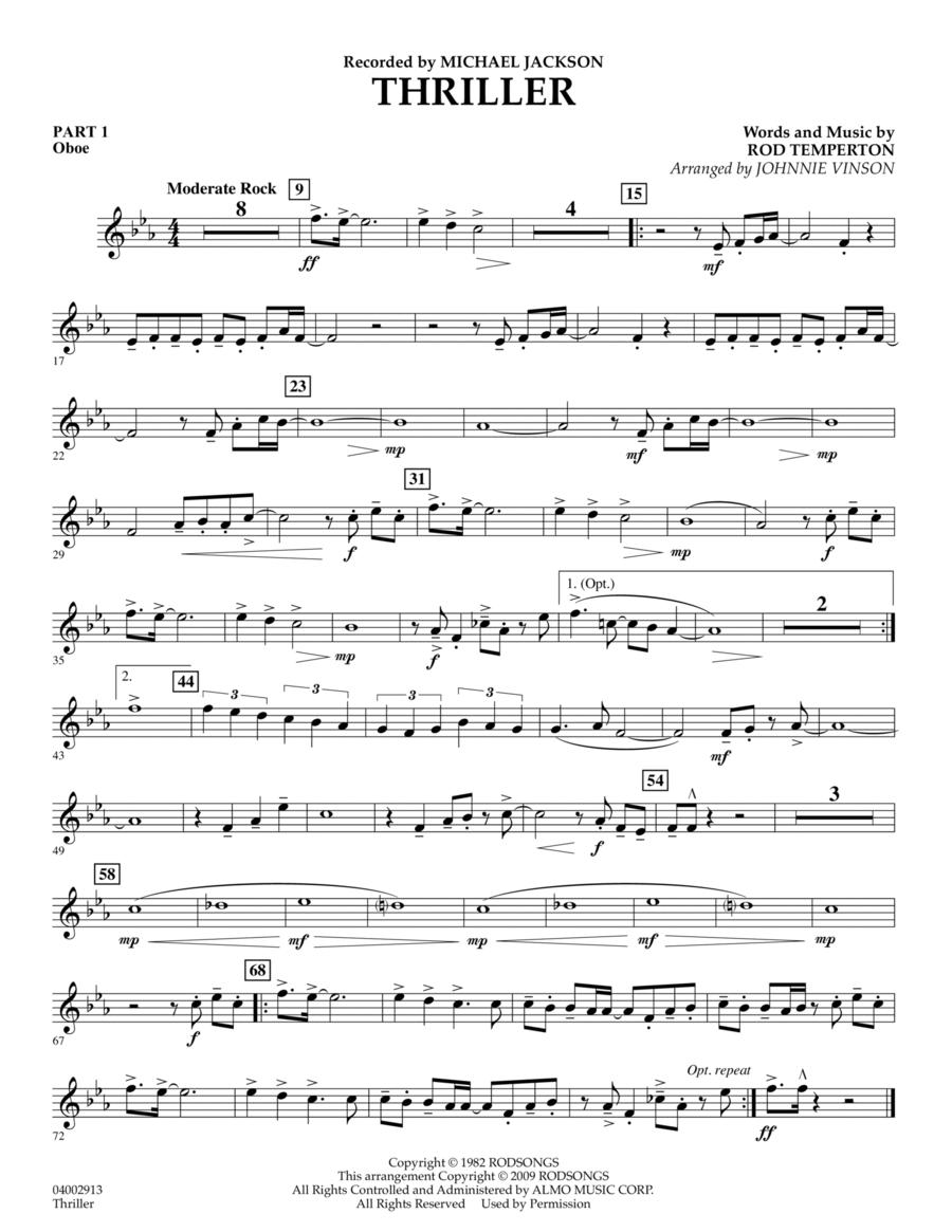 Thriller - Pt.1 - Oboe