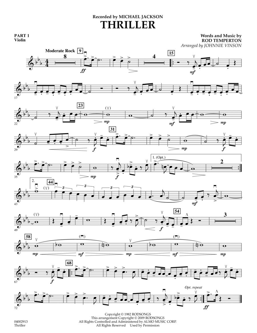 Thriller - Pt.1 - Violin