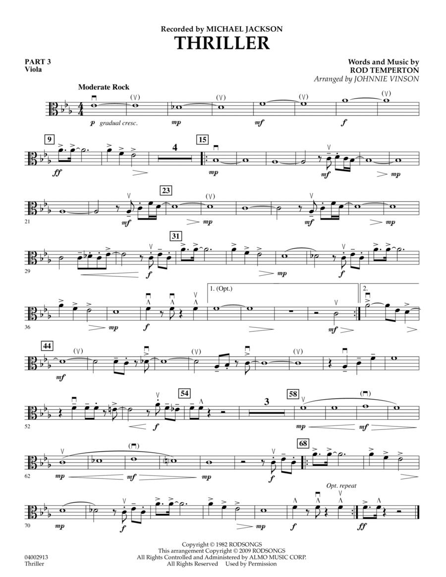 Thriller - Pt.3 - Viola