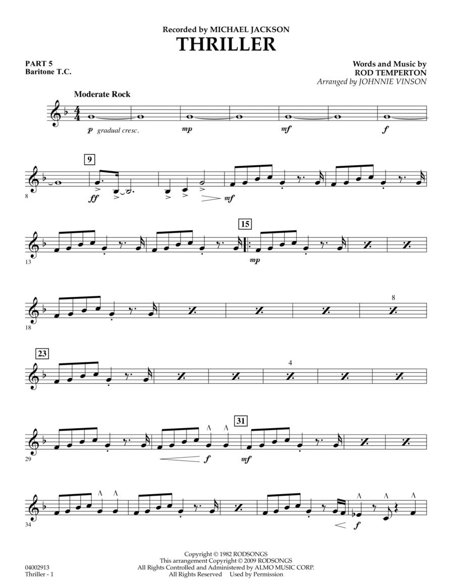 Thriller - Pt.5 - Baritone T.C.
