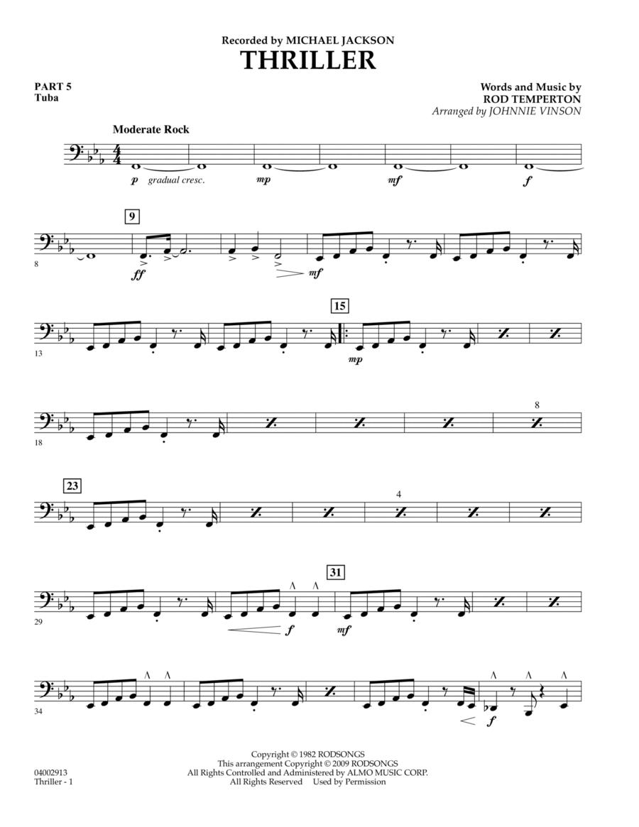 Thriller - Pt.5 - Tuba