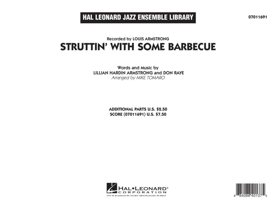 Struttin' with Some Barbecue - Conductor Score (Full Score)