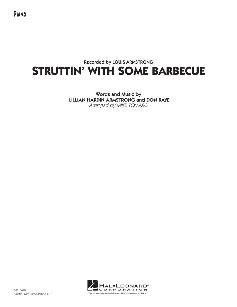 Struttin' with Some Barbecue - Piano