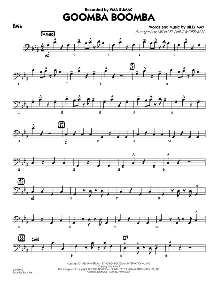 Goomba Boomba - Bass