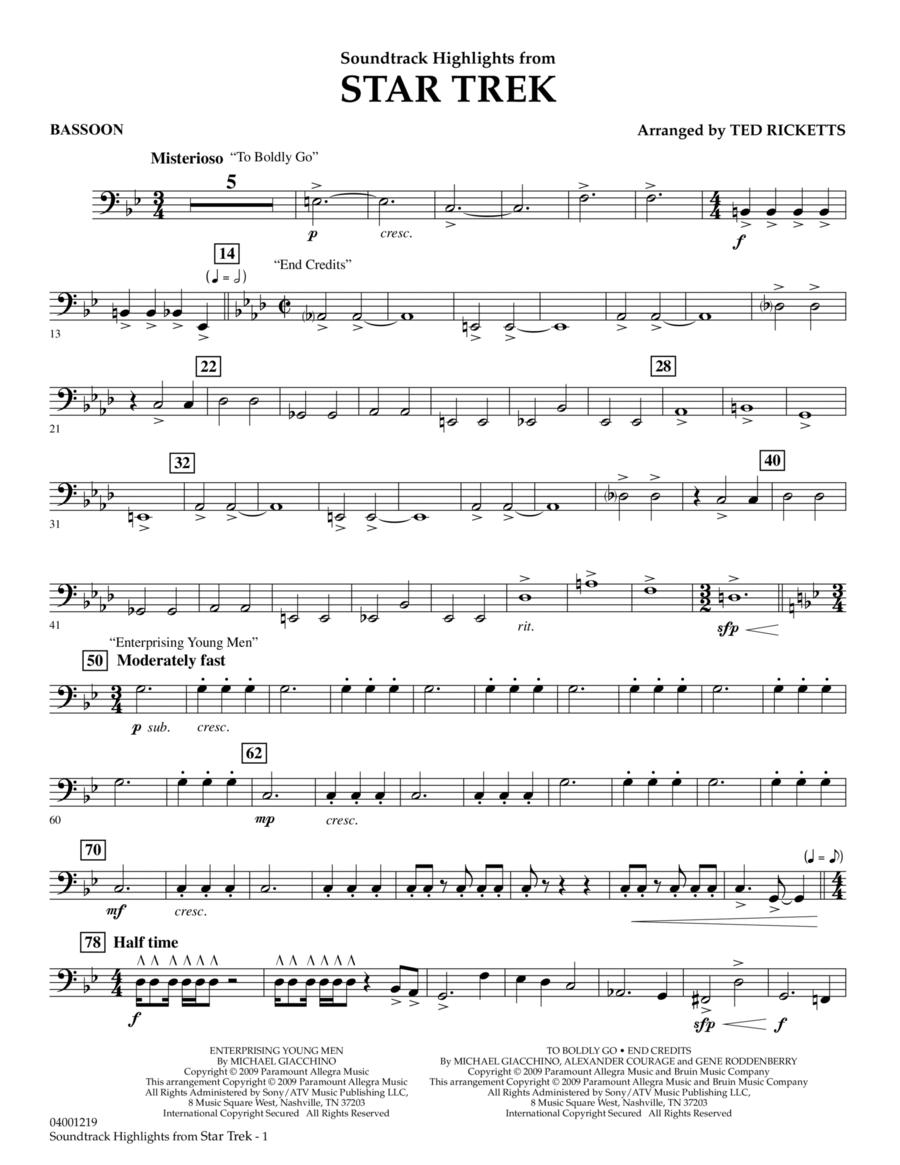 Star Trek - Soundtrack Highlights - Bassoon