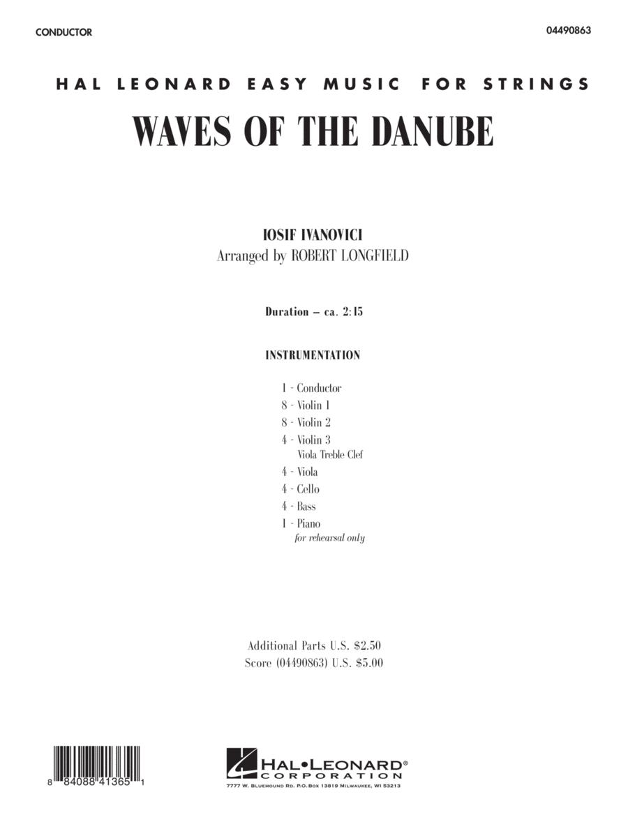 Waves of the Danube - Full Score