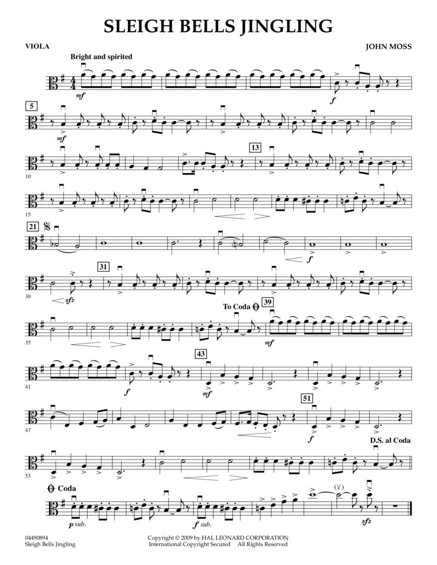 Sleigh Bells Jingling - Viola