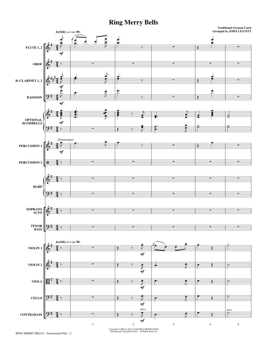 Ring Merry Bells - Full Score