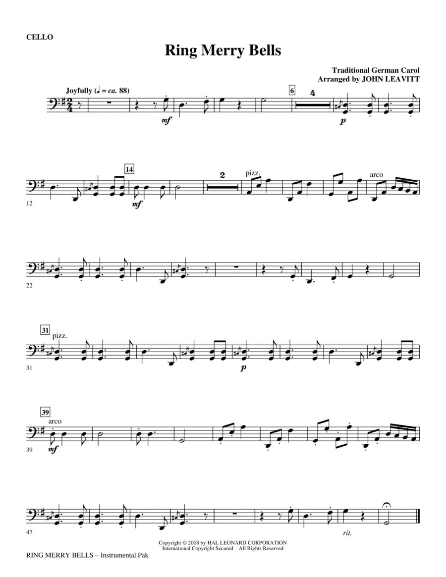 Ring Merry Bells - Cello