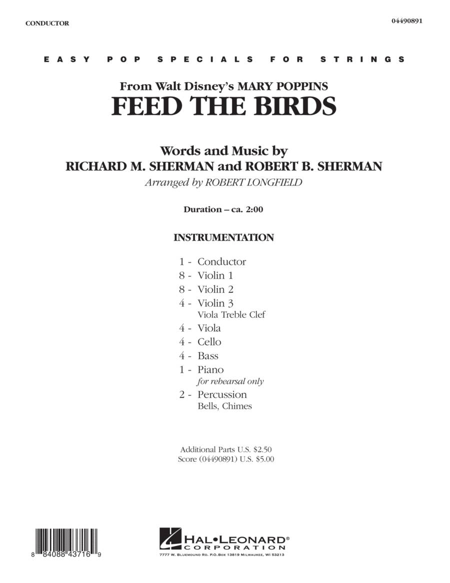 Feed the Birds (from
