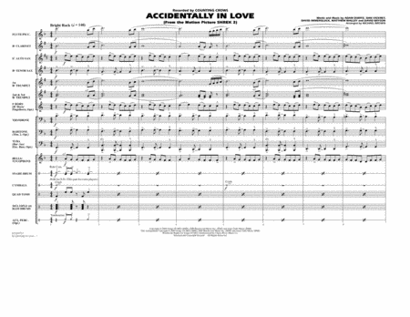 Accidentally In Love - Full Score