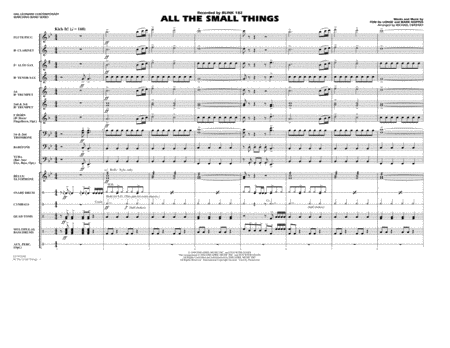 All The Small Things - Full Score