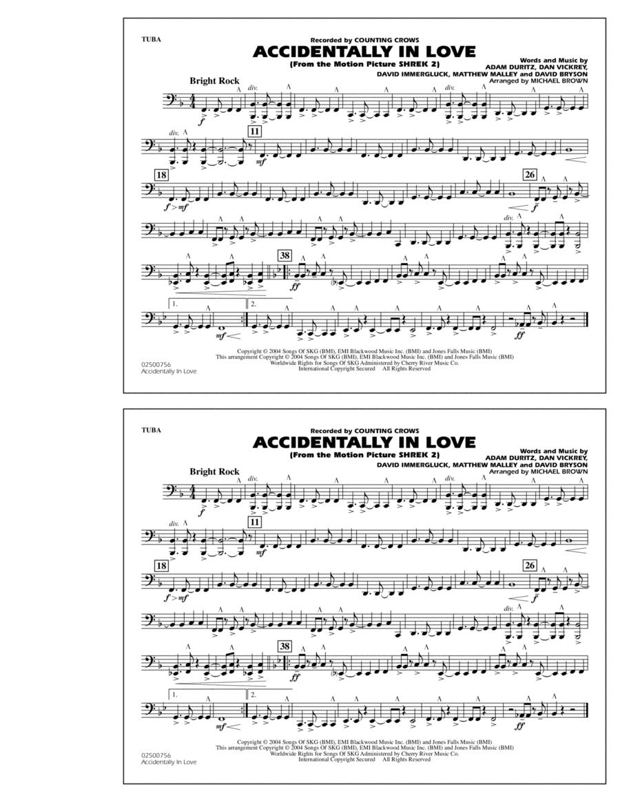 Accidentally In Love - Tuba