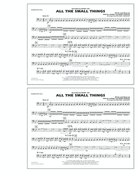 All The Small Things - Baritone B.C.