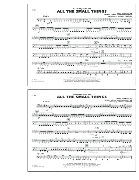 All The Small Things - Tuba