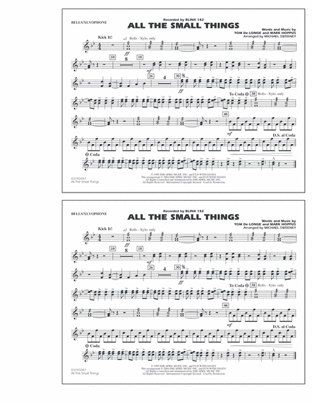 All The Small Things - Bells/Xylophone