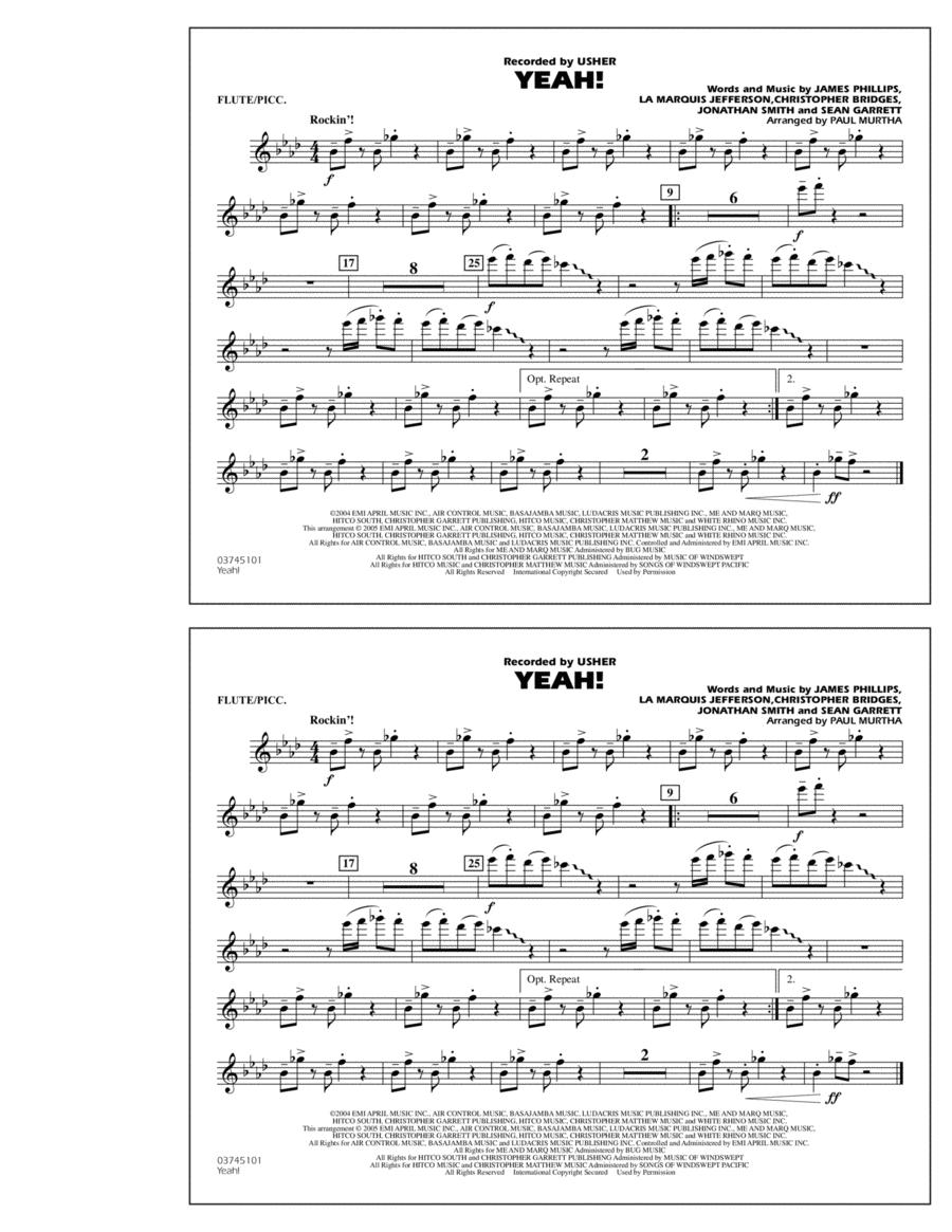 Yeah! - Flute/Piccolo
