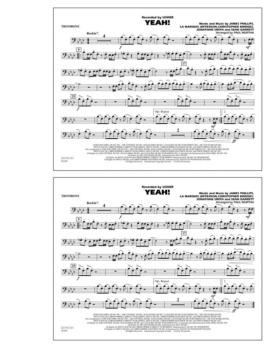 Yeah! - Trombone