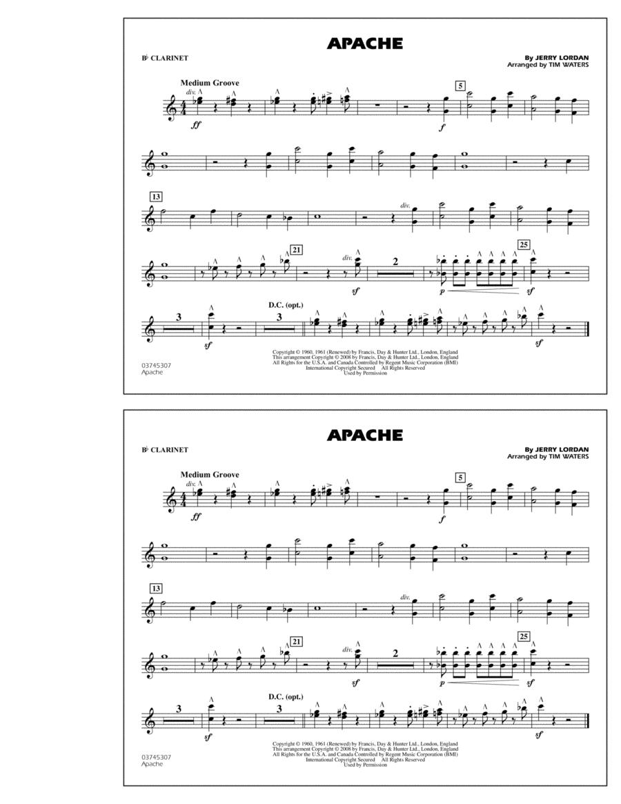 Apache - Bb Clarinet