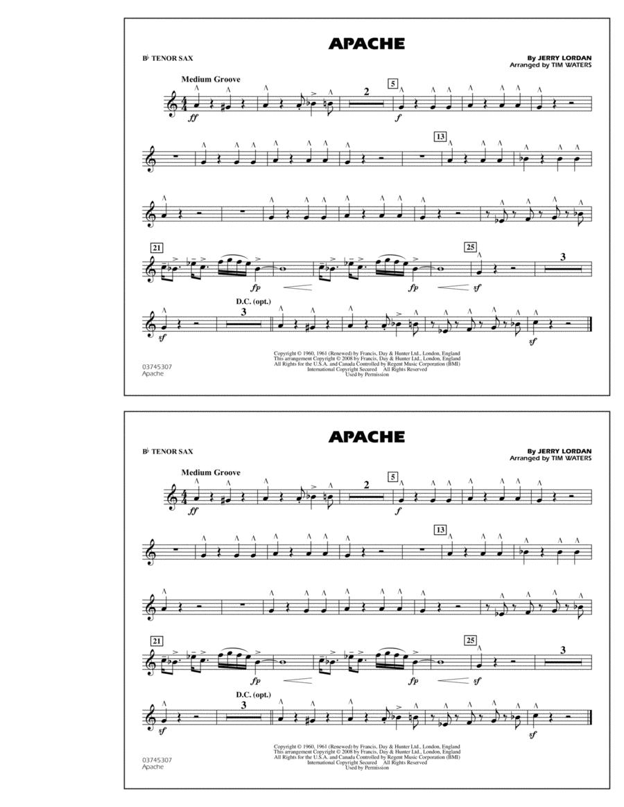 Apache - Bb Tenor Sax