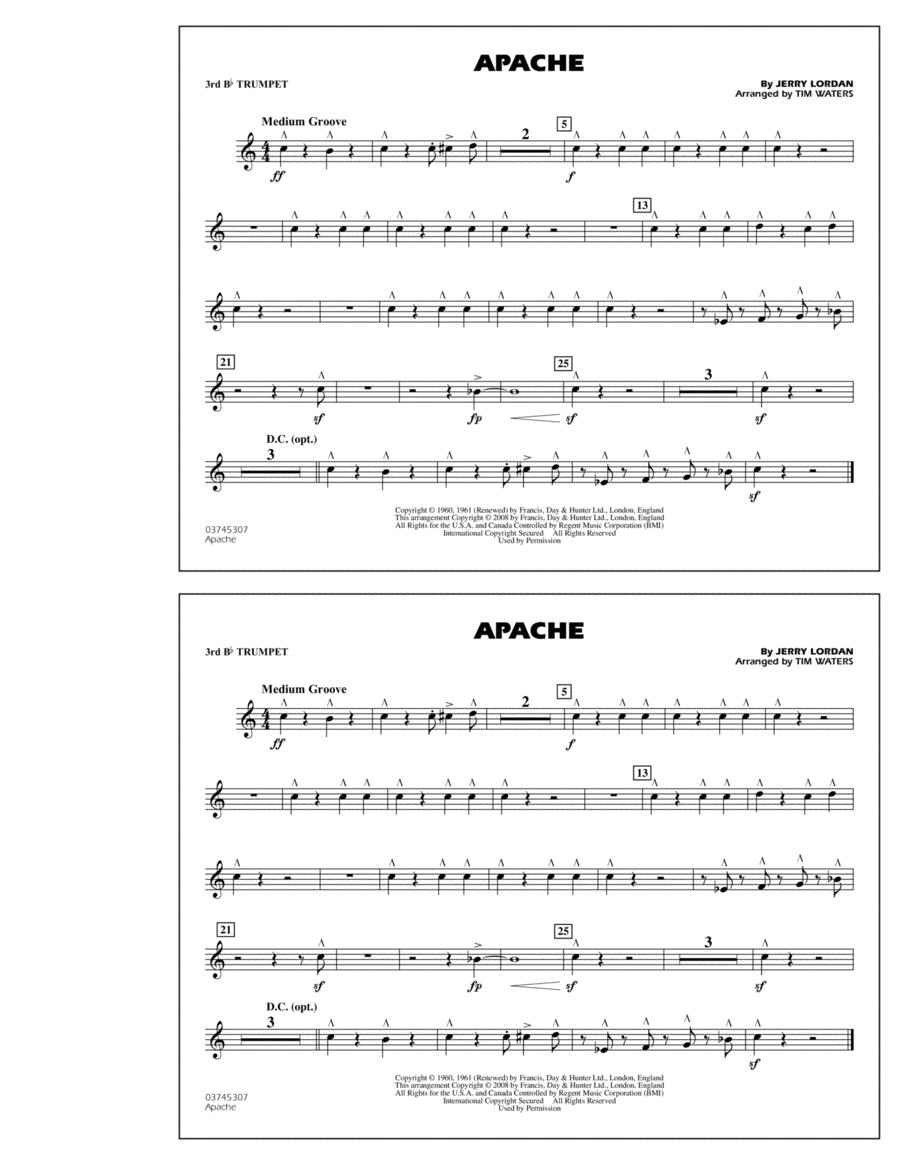 Apache - 3rd Bb Trumpet