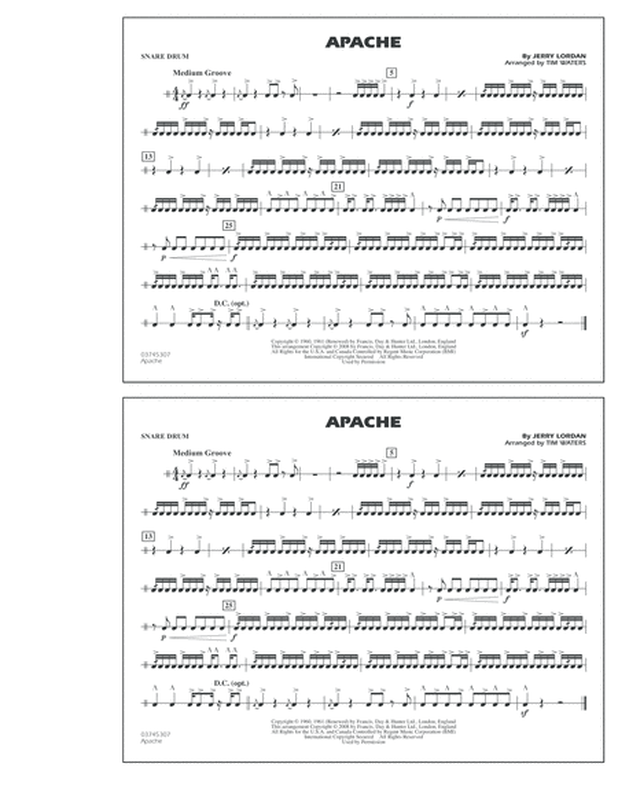 Apache - Snare Drum